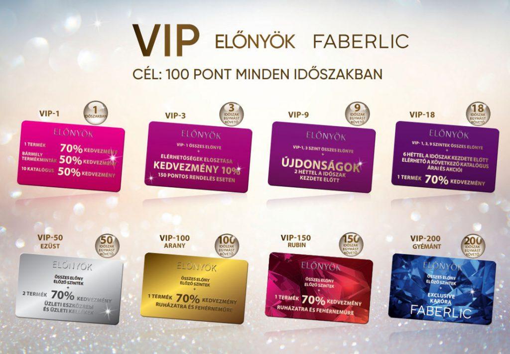 Faberlic VIP tagság