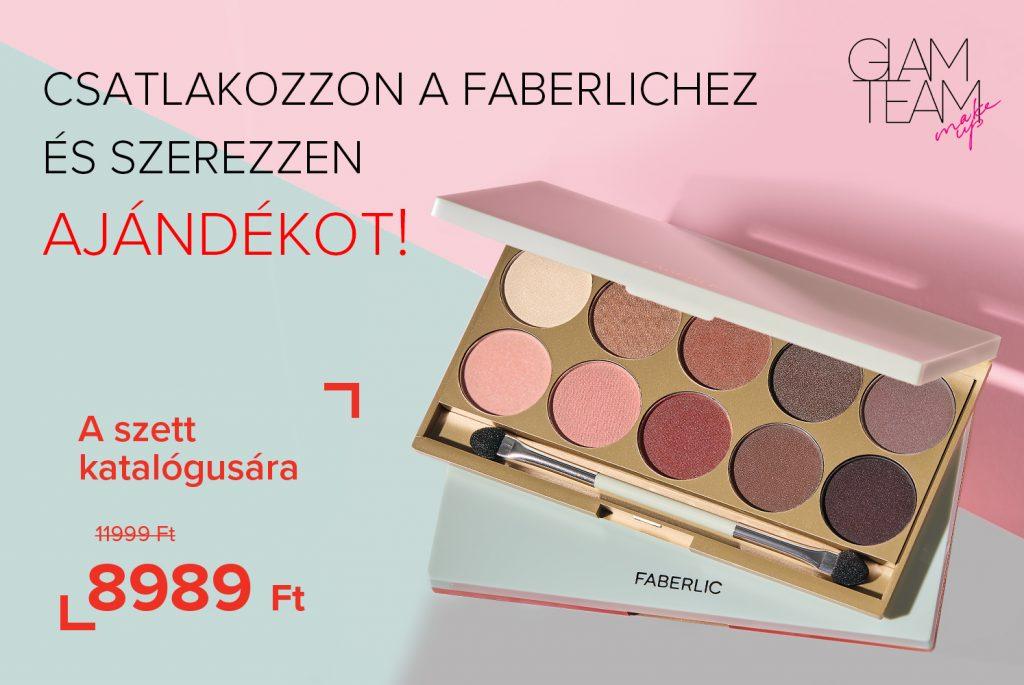 Celebrating Makeup szemhéj paletta ajándék