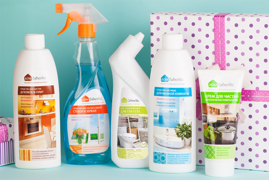 Faberlic háztartási tisztító csomag