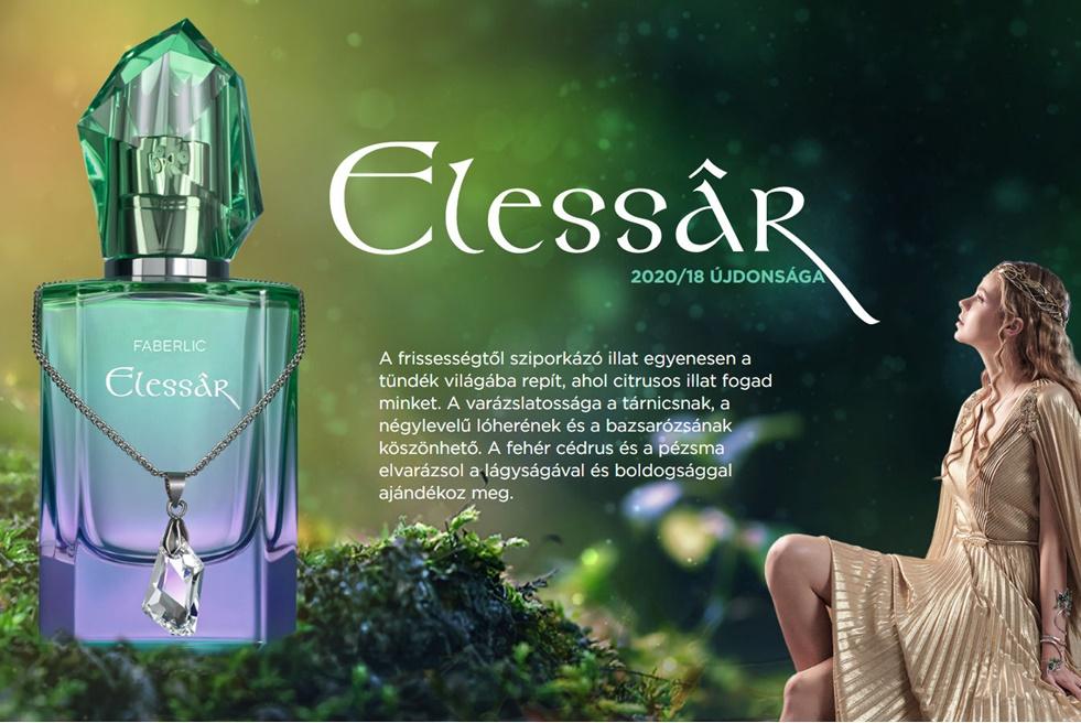 AJÁNDÉK 50 ml-es Elessar parfüm