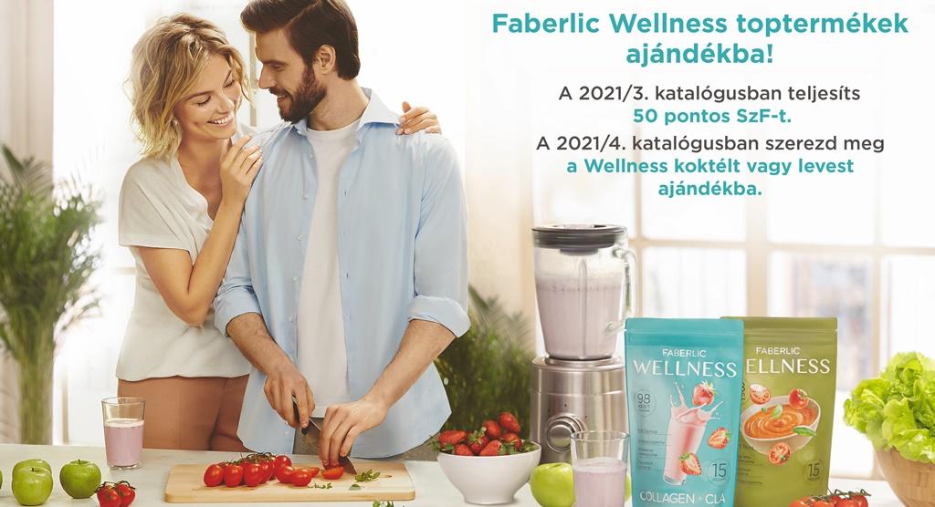 Faberlic wellness shake és leves